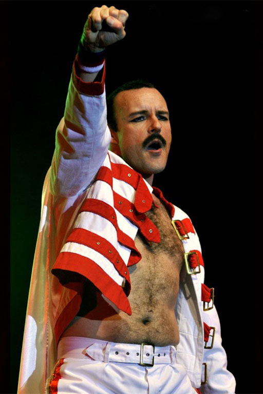 Freddie Mercury - Rob Comber